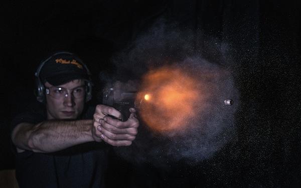 gun burst